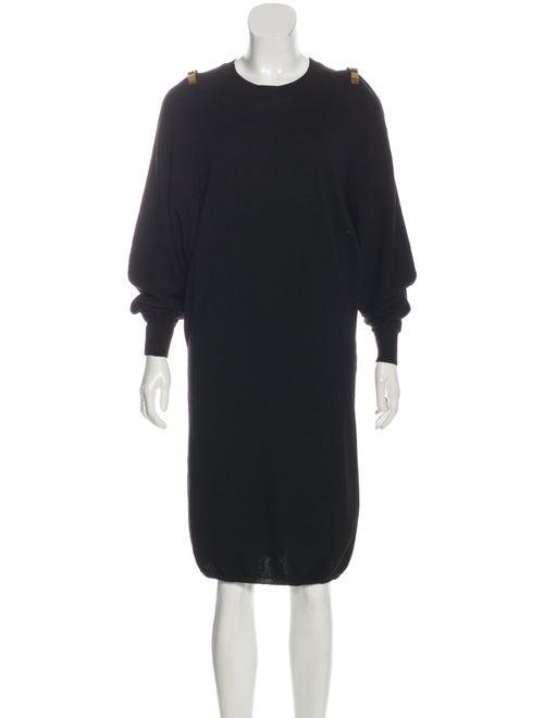 Givenchy Midi Sweater Dress Black