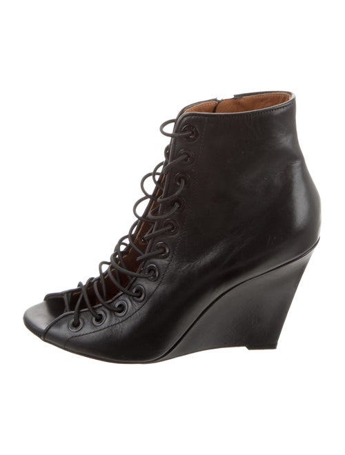 Givenchy Leather Ankle Booties Black