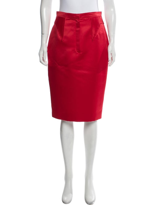 Givenchy Satin Pencil Skirt w/ Tags