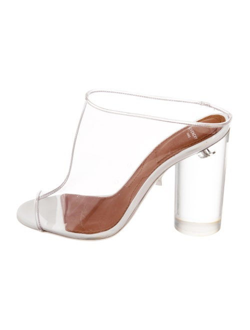 Givenchy PVC Slide Sandals Clear