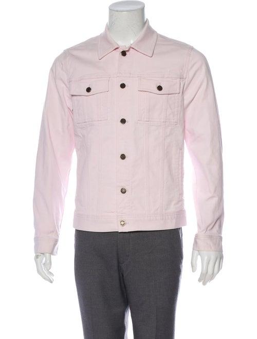 Givenchy Denim Trucker Jacket pink