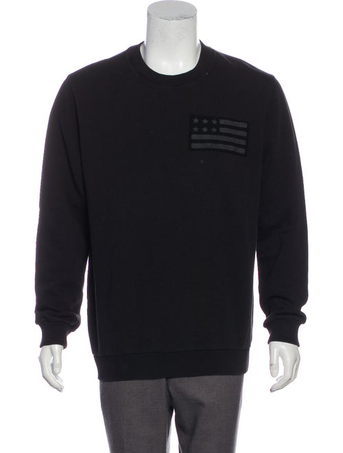 Givenchy Flag Appliqué Sweatshirt black