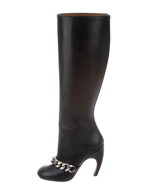 Givenchy Leather Knee-High Boots Black