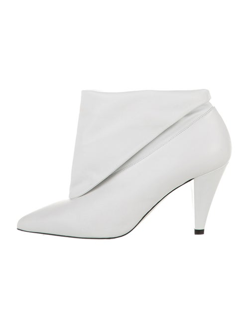 Givenchy Leather Boots White