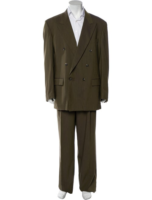 Givenchy Two-Piece Suit Green