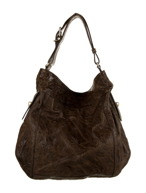 Givenchy Leather Shoulder Bag Brown