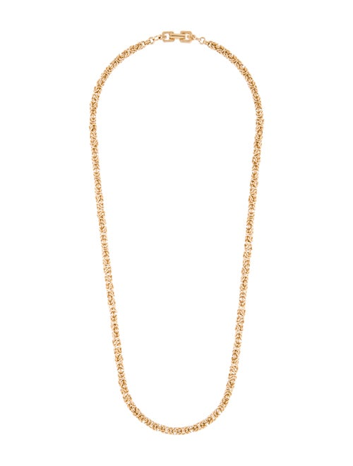 Givenchy Chain Necklace Gold
