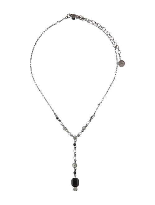 Givenchy Crystal Lavalier Necklace