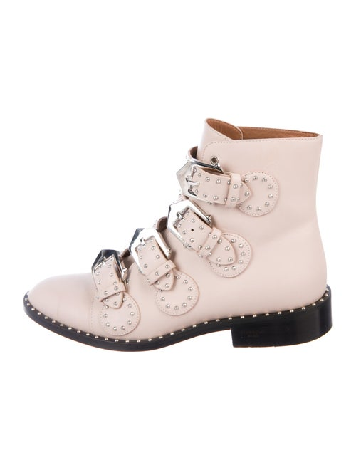 Givenchy Leather Boots Pink