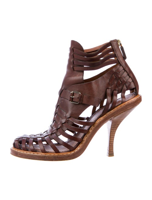 Givenchy Leather Boots Brown