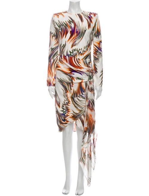 Givenchy Silk Midi Length Dress