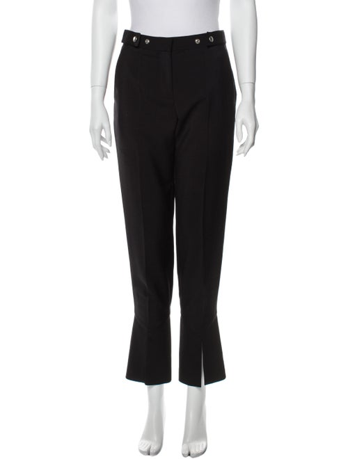 Givenchy Mohair Flared Pants Black
