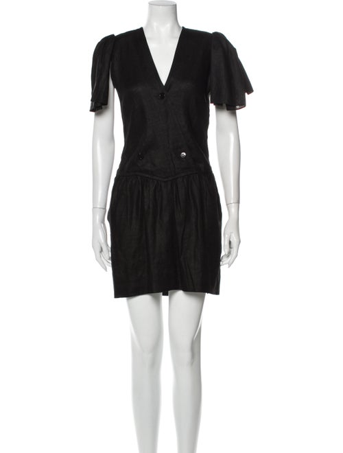 Givenchy Vintage Mini Dress Black