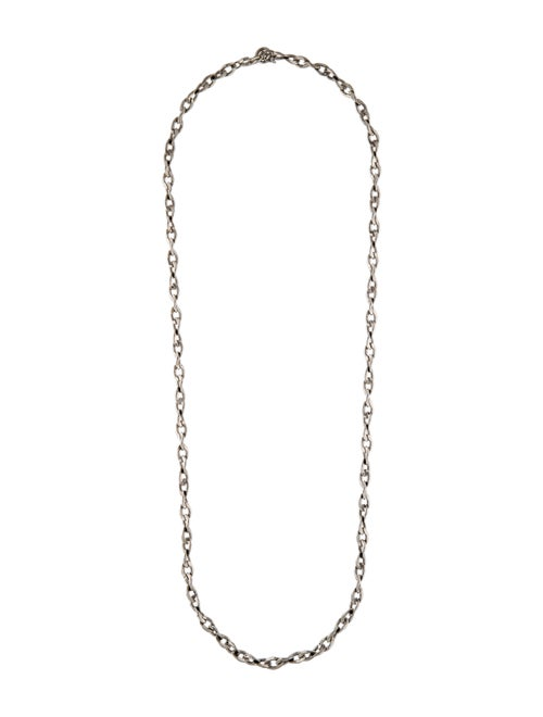 Givenchy Link Chain Necklace Silver