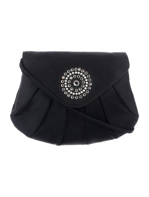Givenchy Vintage Embellished Evening Bag Black