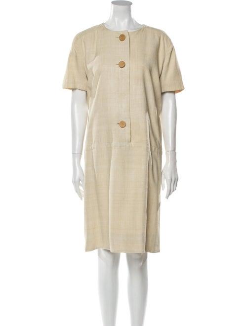 Givenchy Crew Neck Knee-Length Dress