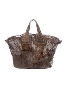 Givenchy Patent Medium Nightingale Bag