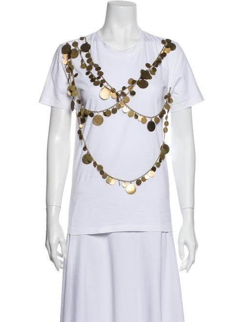 Givenchy Crew Neck Short Sleeve T-Shirt White - image 1