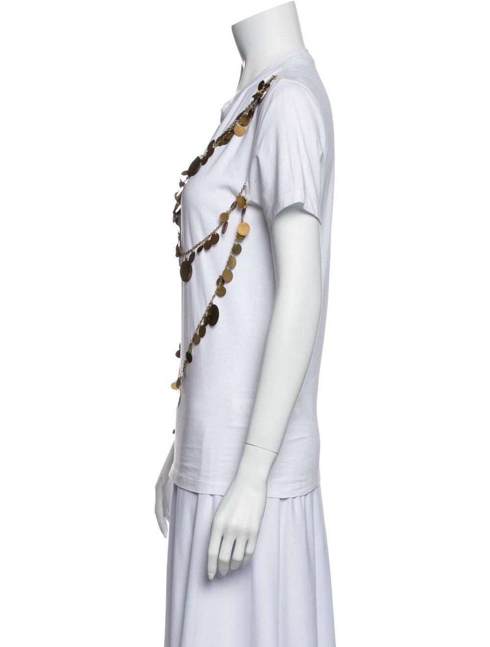 Givenchy Crew Neck Short Sleeve T-Shirt White - image 2