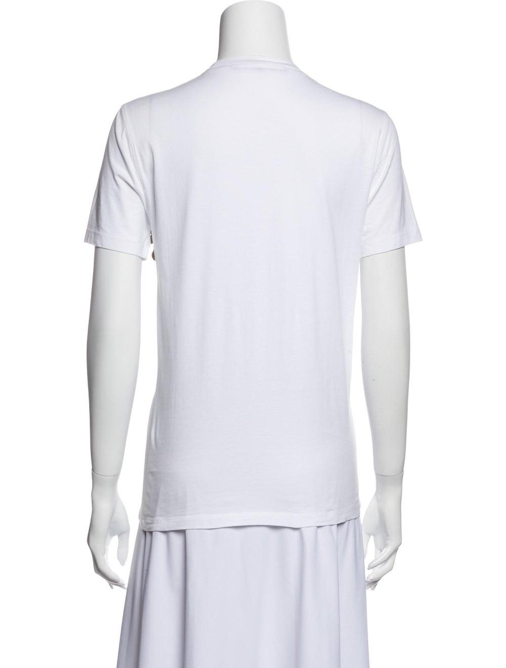 Givenchy Crew Neck Short Sleeve T-Shirt White - image 3