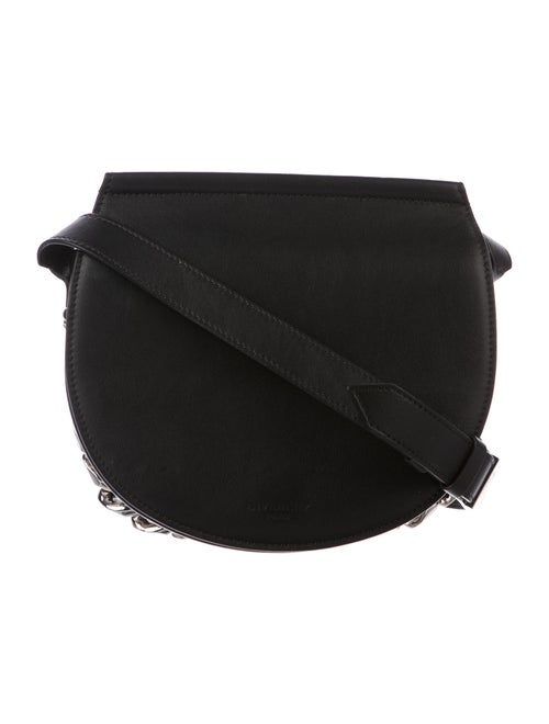 Givenchy Infinity Saddle Bag Black