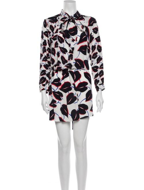 Givenchy Silk Knee-Length Dress