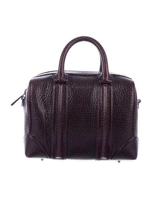 Givenchy Leather Lucrezia Satchel Purple