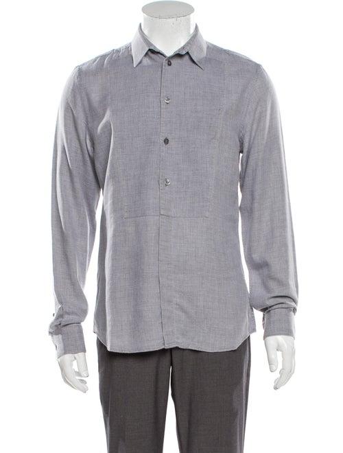 Givenchy Long Sleeve Dress Shirt Grey
