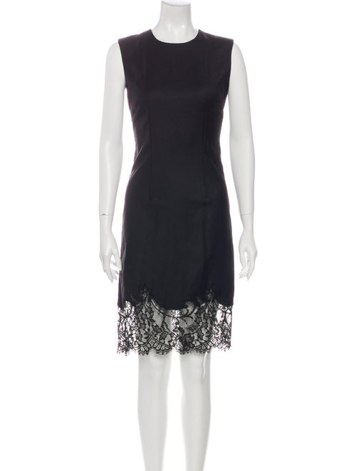 Givenchy Wool Knee-Length Dress Wool