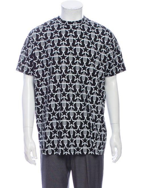 Givenchy 2016 Printed T-Shirt Black