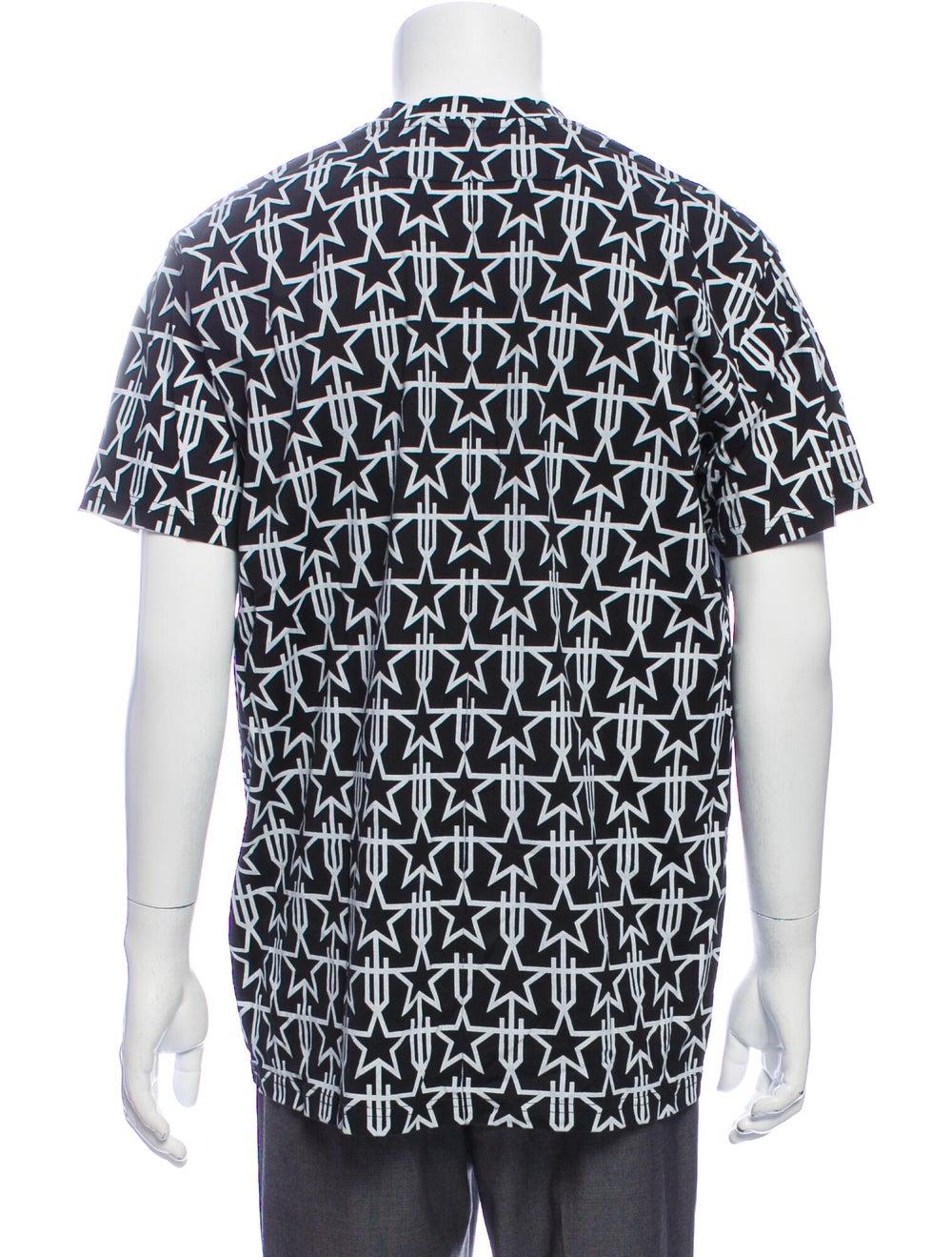 Givenchy 2016 Printed T-Shirt Black - image 3