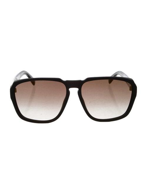 Givenchy Gradient Aviator Sunglasses Black