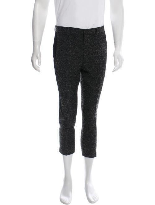 Givenchy Tweed Wool Pants black