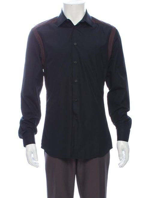 Givenchy Long Sleeve Dress Shirt Black