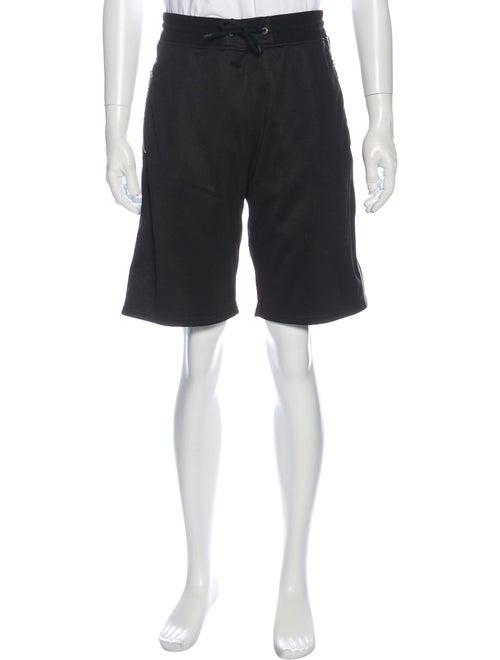 Givenchy Graphic Print Shorts Black