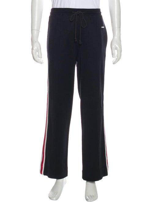 Givenchy Striped Pajama Bottoms Black