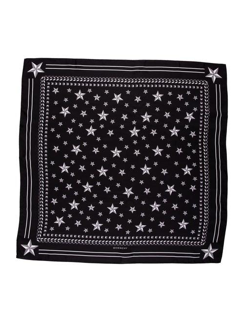 Givenchy Silk Printed Black
