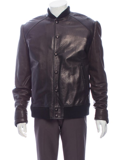 Givenchy Moto Jacket Brown