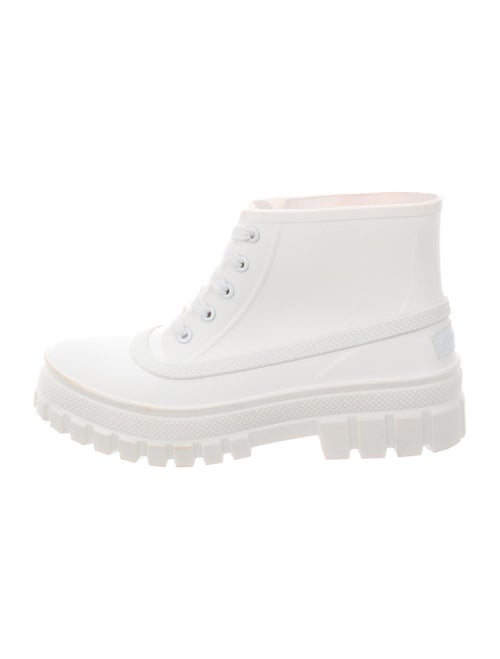 Givenchy Rubber Rain Boots White