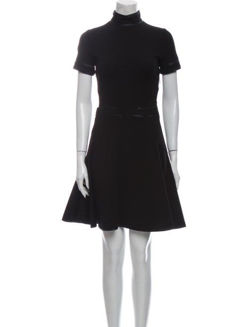 Givenchy Turtleneck Mini Dress Black