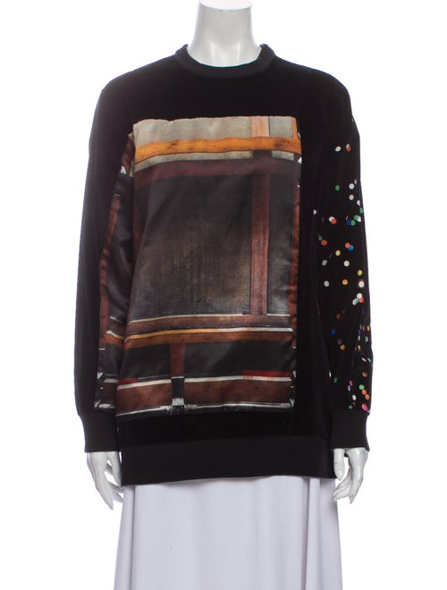 Givenchy Printed Mock Neck Sweater