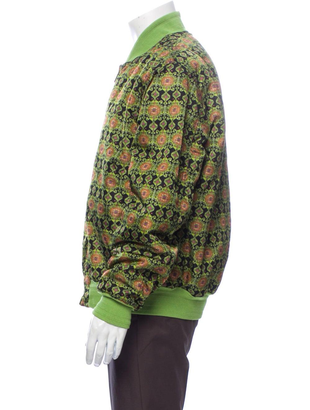 Givenchy Printed Bomber Jacket Green - image 2