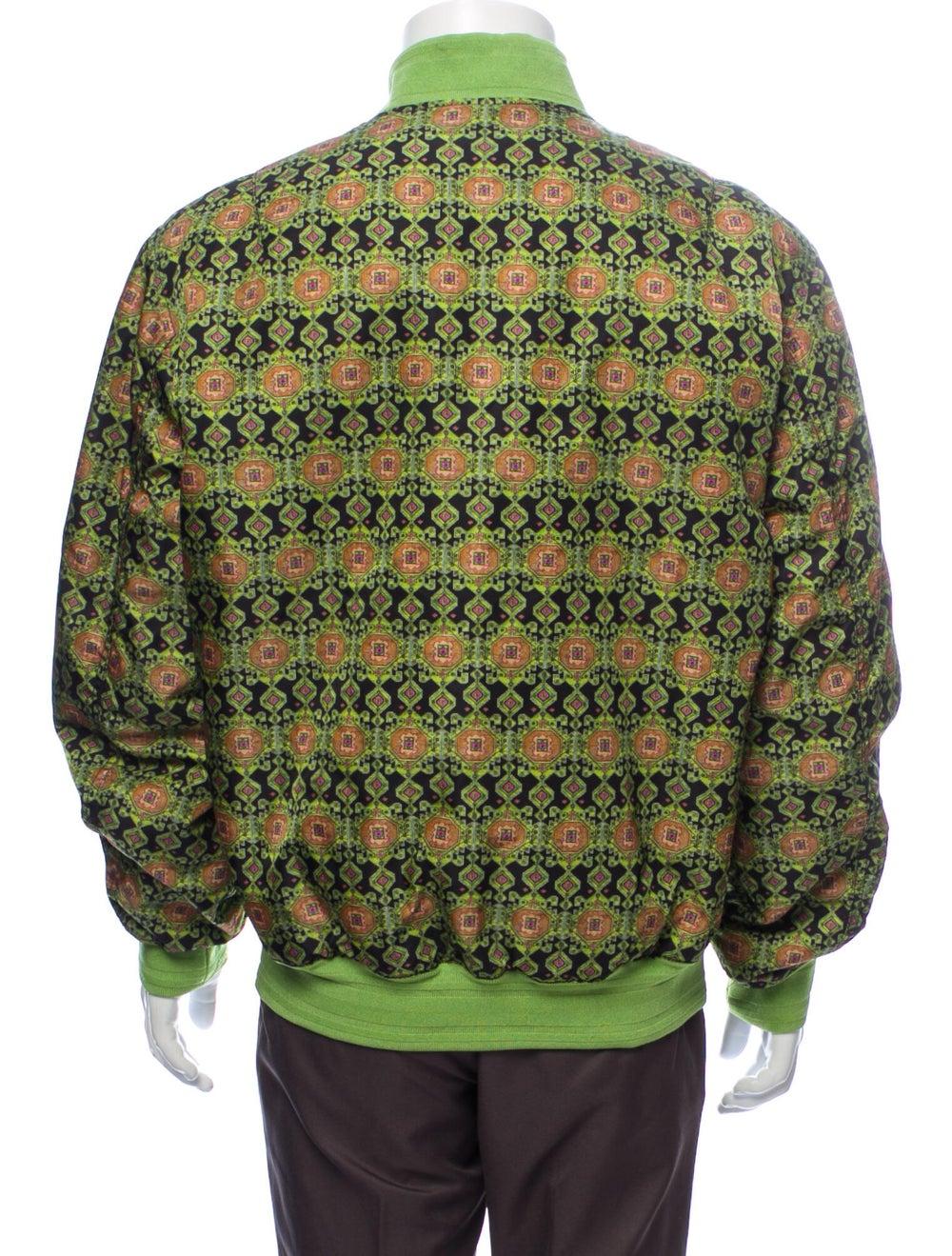 Givenchy Printed Bomber Jacket Green - image 3