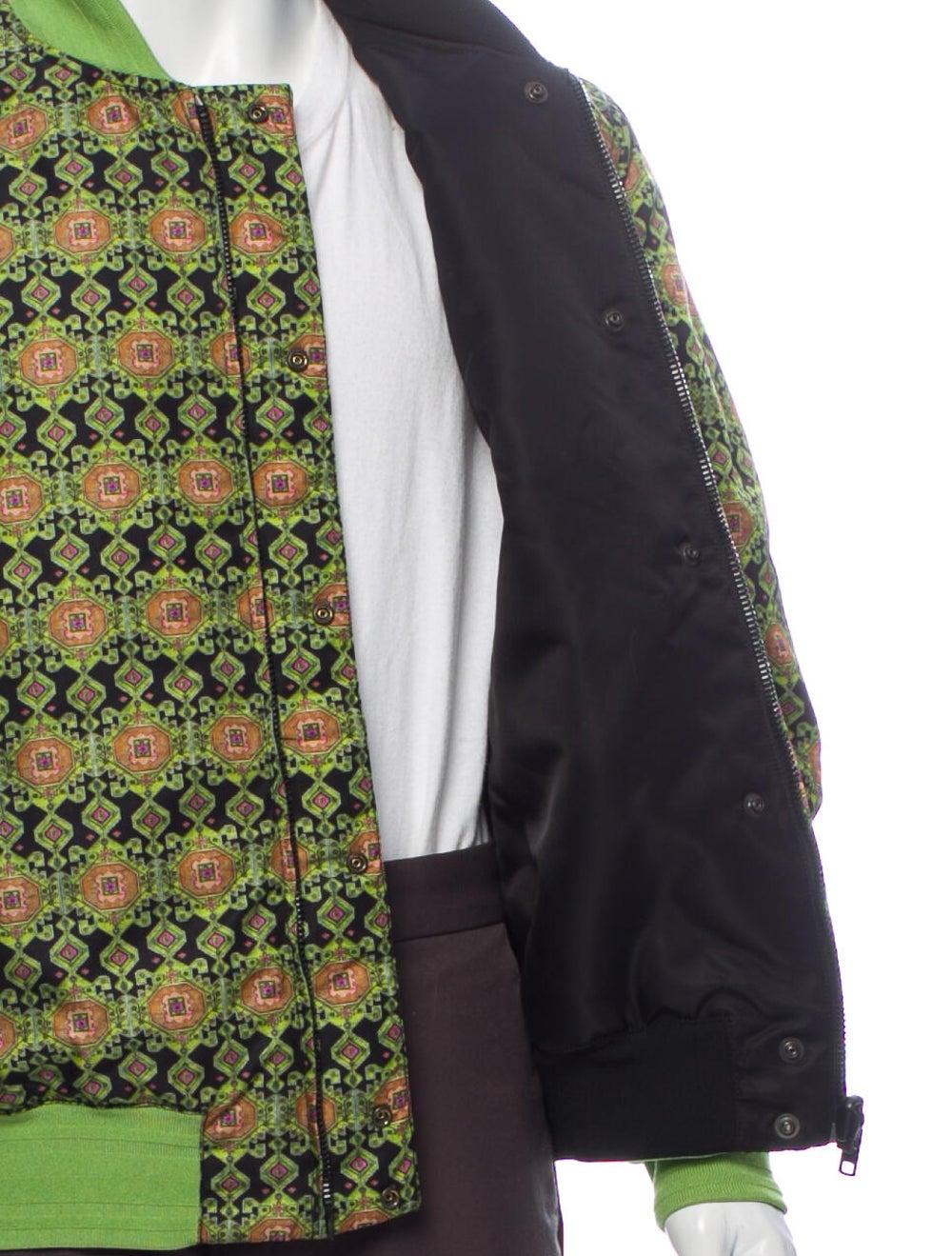Givenchy Printed Bomber Jacket Green - image 4