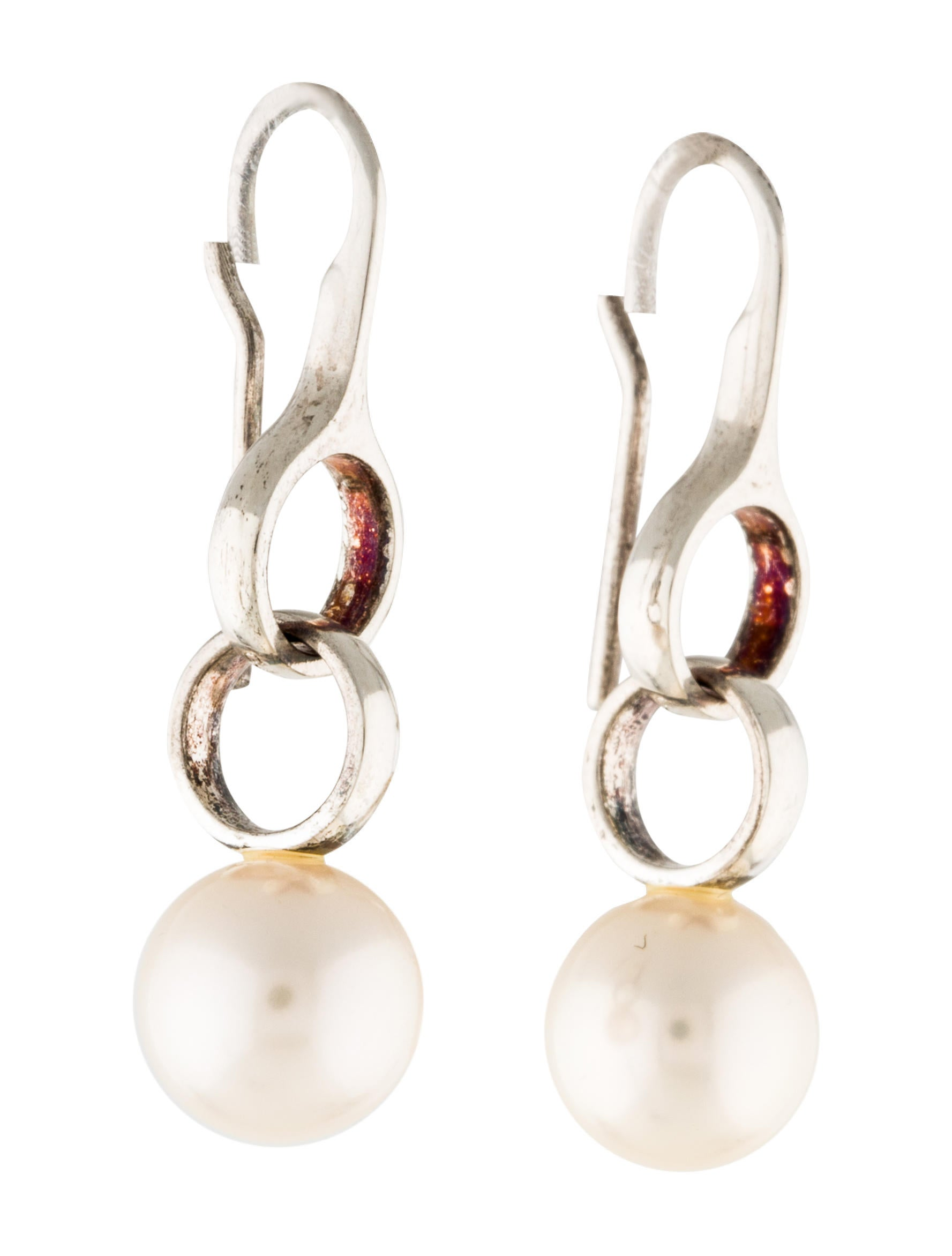 pearl and real girls simple product earrings for cute