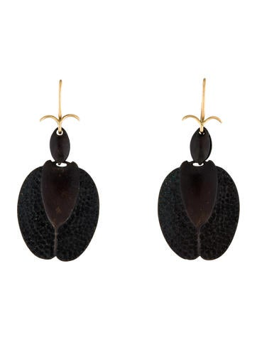 Gabriella Kiss Beetle Earrings