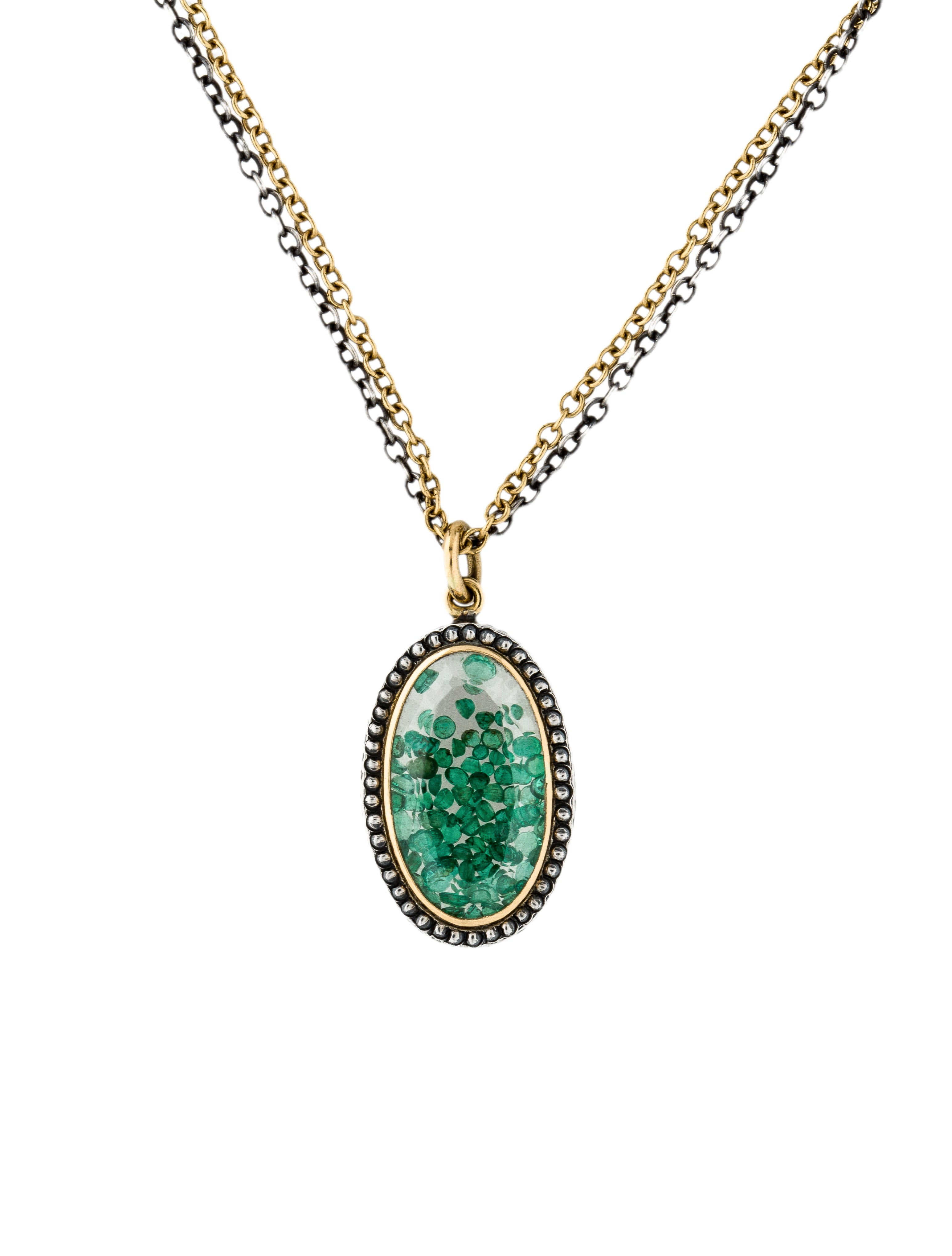 yellow jewelry pendants pendant gold fashion diamond and color stone emerald
