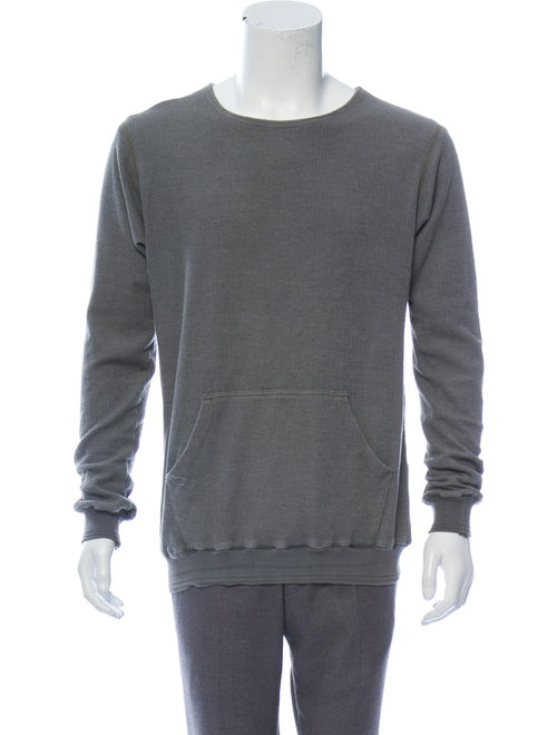 Greg Lauren Knit Thermal Sweater