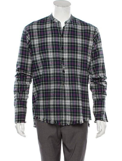Greg Lauren Flannel Studio Shirt w/ Tags green