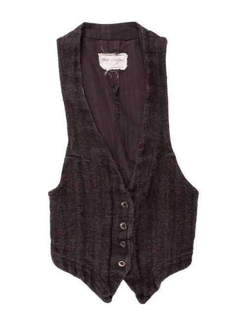 Greg Lauren Vest Grey